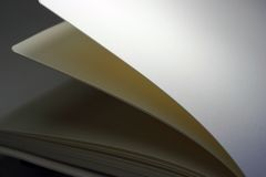 Pages. Macro of pages of a book Royalty Free Stock Image