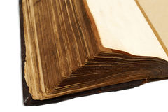 Pages of an ancient  book Stock Photo