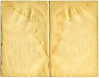 Pages antiques de livre Photographie stock libre de droits