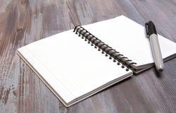 Pages blanches Images libres de droits