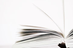 Pages of a book. Abstract photo Royalty Free Stock Photography