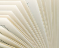 Pages of a book 4. Close-up shot of pages of a book Royalty Free Stock Photography