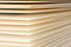 Pages of a book 5. Close-up shot of pages of a book Royalty Free Stock Photos