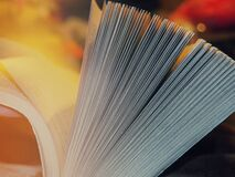 Pages of book Stock Images