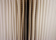 Pages of book Stock Image