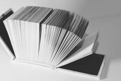 Pages d'un livre Images libres de droits