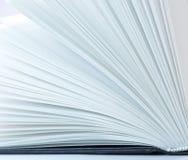 Pages de livre image stock