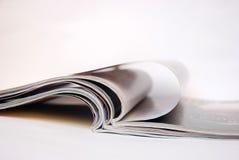 Pages de magazine Photos libres de droits