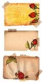 Pages grunges avec du ruban illustration de vecteur