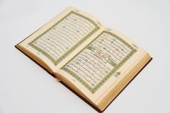 Pages of The Holy Book Of Quran Royalty Free Stock Photos