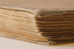 Pages of the old book Stock Image