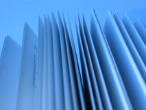 Pages of an Open Book. Close-up of pages of an open book Royalty Free Stock Photos