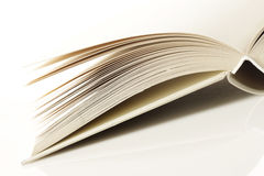 Pages of an open book Stock Photography