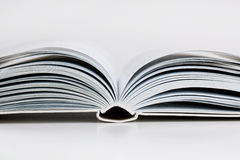 Pages open a thick book Royalty Free Stock Photography