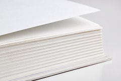 Pages of a thick book Stock Images