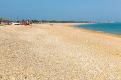 Pagham Beach West Sussex Stock Image