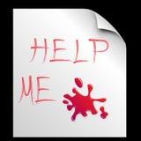 Pagina-Aiutilo Immagine Stock