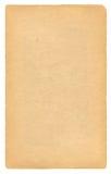Pagina antica del documento in bianco Immagine Stock