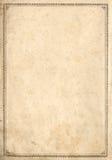 Pagina antica del libro Immagine Stock Libera da Diritti