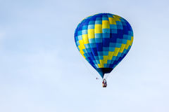 PAGINA, ARIZONA/USA - 8 NOVEMBER: Hete lucht het ballooning dichtbij Pagina binnen stock afbeelding