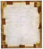 Pagina in bianco con il blocco per grafici di carta Fotografie Stock