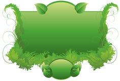 Pagina con erba ed i turbinii Fotografia Stock Libera da Diritti