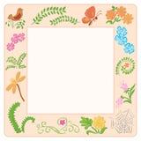 Pagina con gli elementi della natura - illustrazione Royalty Illustrazione gratis