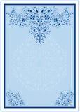 Pagina con il disegno ornamentale Immagini Stock