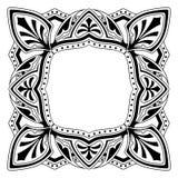 Pagina con il disegno ornamentale Fotografia Stock