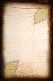 Pagina dal vecchio documento della striscia Immagini Stock Libere da Diritti