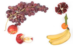 Pagina dalla frutta fresca Immagine Stock Libera da Diritti