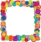 Pagina dei bottoni per i bambini Immagini Stock