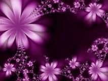 Pagina dei fiori illustrazione vettoriale