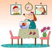 Pagina del libro per bambini Immagini Stock Libere da Diritti