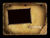 Pagina dell'album dell'annata Immagini Stock