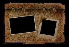 Pagina dell'album di foto Immagine Stock