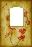 Pagina dell'album di foto dell'oggetto d'antiquariato Fotografie Stock Libere da Diritti