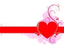Pagina di amore Immagini Stock Libere da Diritti