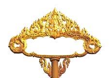 Pagina di arte antica tailandese Immagine Stock Libera da Diritti