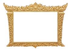 Pagina di arte antica tailandese Immagine Stock