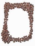 Pagina di caffè Immagine Stock