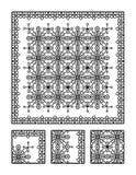Pagina di coloritura e puzzle visivo per gli adulti Fotografie Stock
