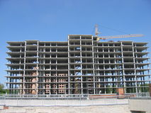 Pagina di costruzione Fotografia Stock Libera da Diritti