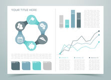 Pagina 4 di Infographic di finanza Immagini Stock