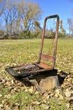 Pagina di un sedile del trattore Fotografie Stock