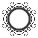 Pagina di vettore del cerchio Fotografie Stock