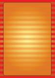 Pagina dorata della barra illustrazione vettoriale