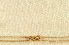Pagina fatta delle corde Immagine Stock Libera da Diritti