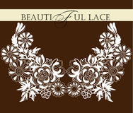 Pagina lace-like Fotografia Stock