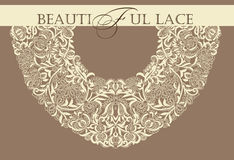 Pagina lace-like Fotografie Stock